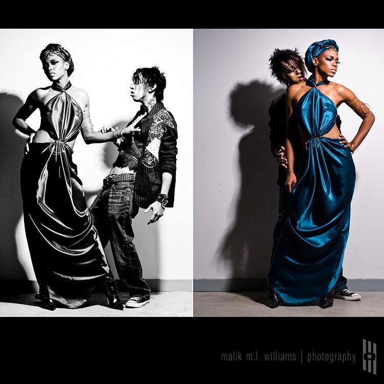 Male model photo shoot of malik m.l. williams and Van Timmy in Dynamic Metal Lofts - Atlanta GA, wardrobe styled by CoD Fashions LLC, makeup by Kendrick B