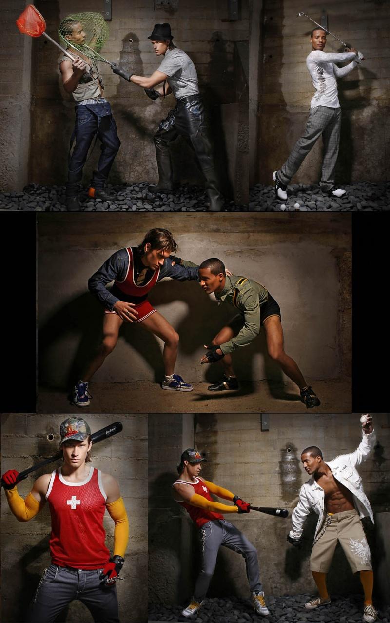 Male model photo shoot of WillSpringfield in marc littlejohn's basement, wardrobe styled by Marc Littlejohn
