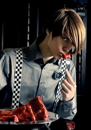 Apr 28, 2008 for fashion designer Tijana Pavlov (s/s 07 collectionBlack&White)