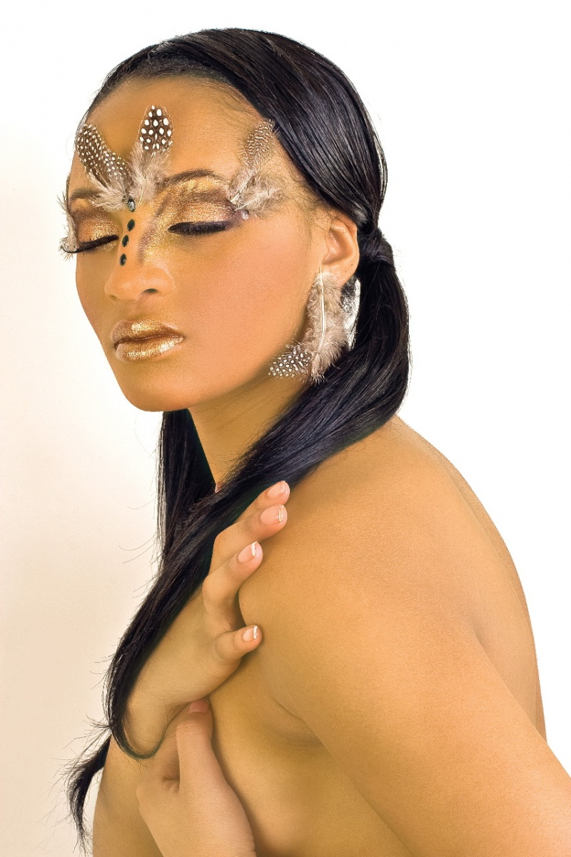 Brooklyn, New York Apr 29, 2008 Category_6 EXOTIC BEAUTY...CASTIS KORELLE (makeup and hair by VICKI STARR)