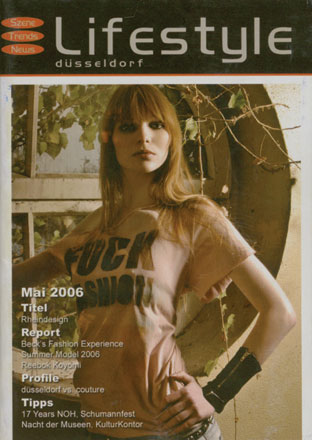 Duesseldorf May 01, 2008 Photog:Simone Holzberg Styling:Rolf Buck Lifestyle Duesseldorf MagCover