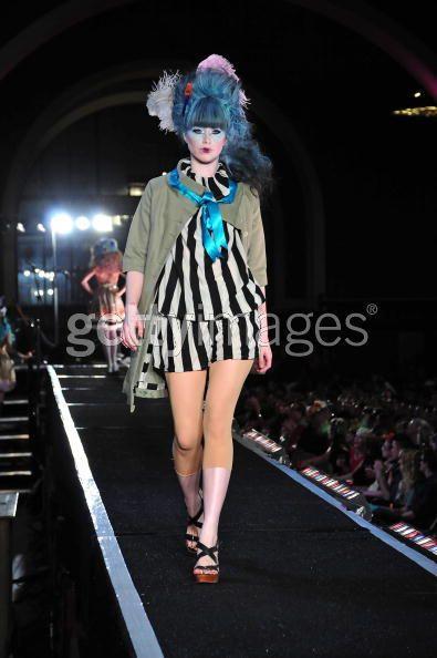Los Angeles May 01, 2008 www.jaymefoxx.com &copy L.A. Fashion Week / runway : JARED GOLD   2008