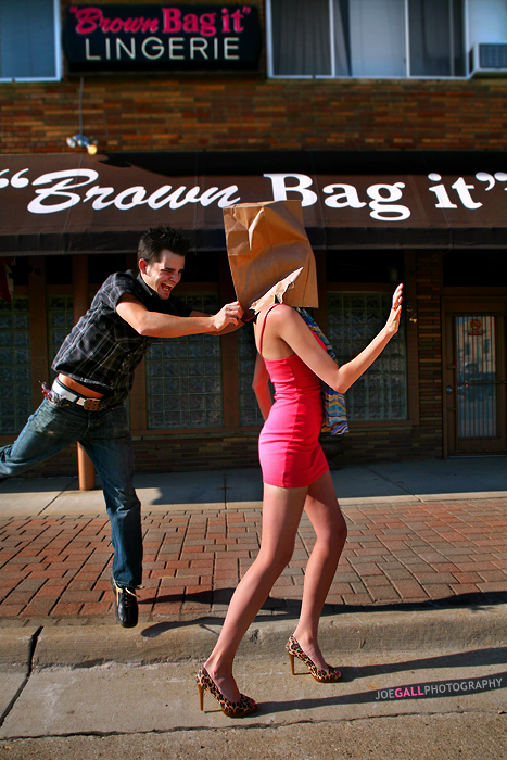 Bagger- Allen Schmalz, Stylist- Channing Pierce. May 04, 2008 Myspace.com/joegallphotography Bag Head.