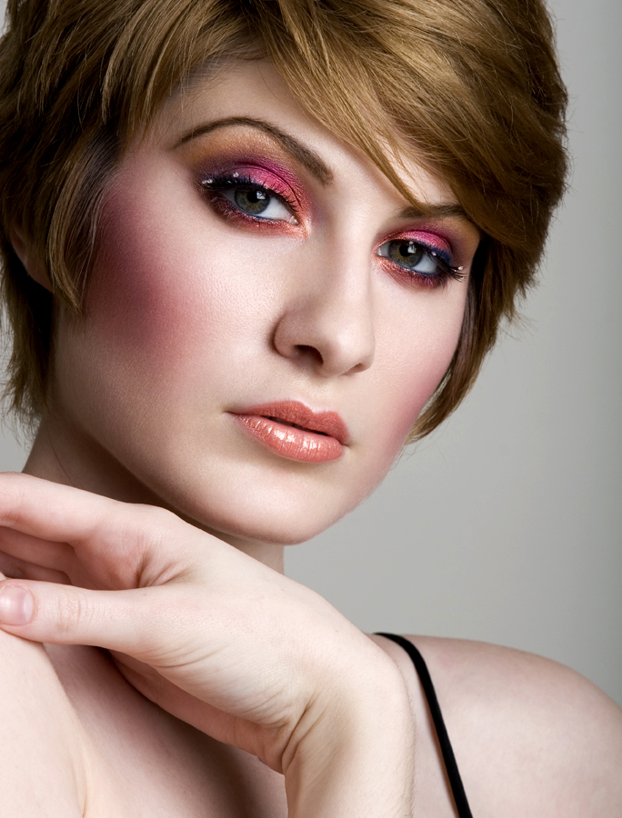 nYC May 05, 2008 Makeup by anita nouryeh, photo by Jeff Chan Bloom Models