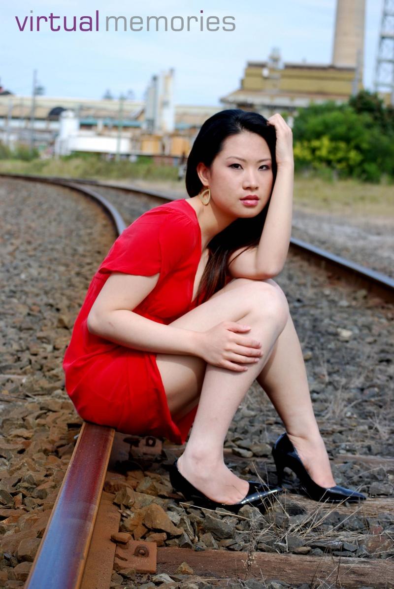 Female model photo shoot of Virtual Memories, makeup by Ashleigh-Morgan