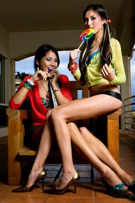 Makakilo May 07, 2008 AHIGA Photography Jee Hae and Lauren