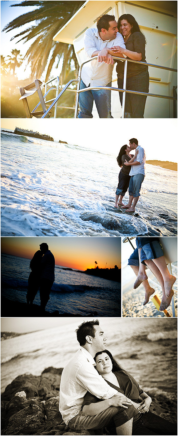 Laguna Beach, CA May 08, 2008 Shawn Kloster Engagement session