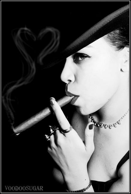 VoodooSugarStudios May 08, 2008 VoodooSugar Love Of Cigars (Model Alicia)