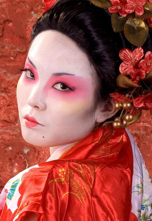 Shanghai - Make-up by Lucky May 11, 2008 Geeepsy/Zee Geisha