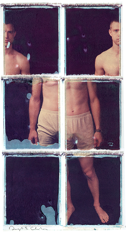 Williamsport, PA May 11, 2008 Eddie Christie Photographie Sagittarius: a split personality [Polaroid transfer]
