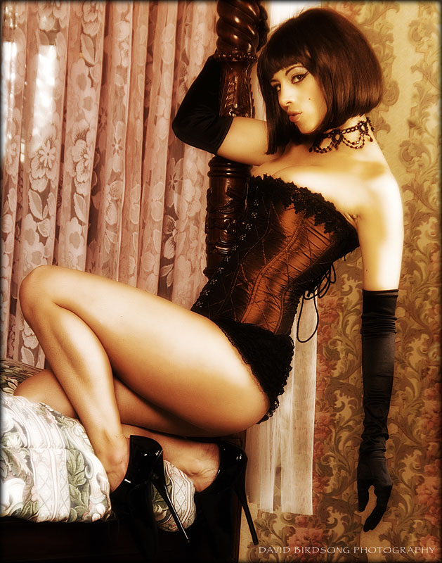 May 12, 2008 david birdsong, mua nicole fae, wig by tc vintage, styling by me kerri taylor rust corset pinup
