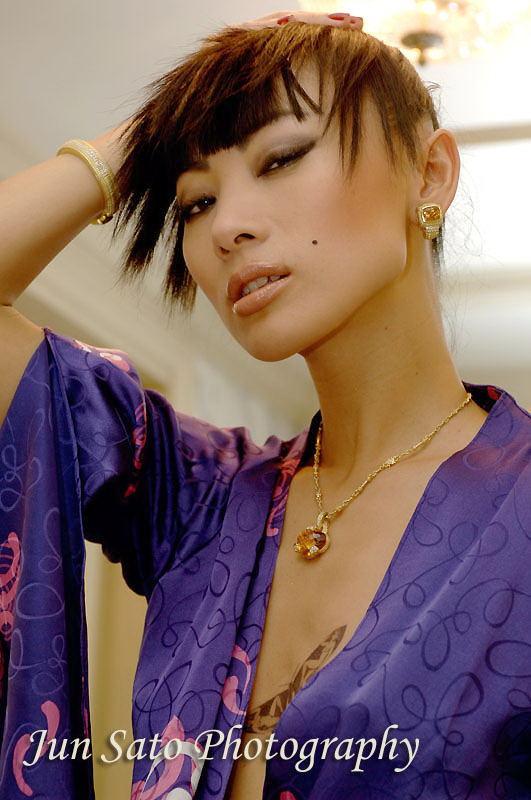 Hong Kong May 14, 2008 Jun Sato Actress Bai Ling