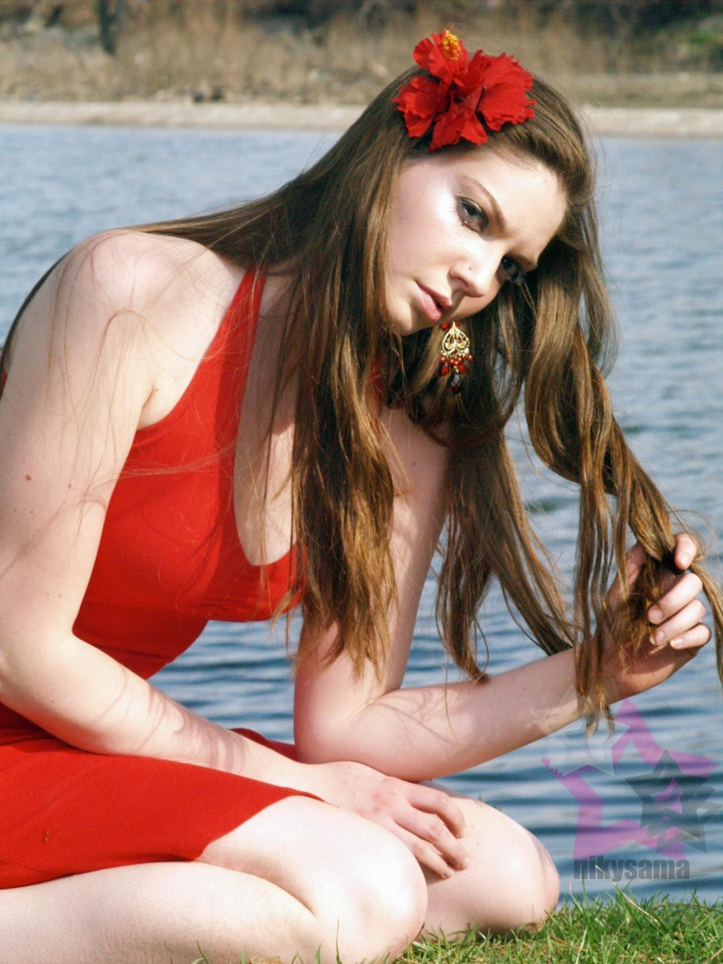 Female model photo shoot of Brooke lyn by Photos by Niky Sama in japanese garden