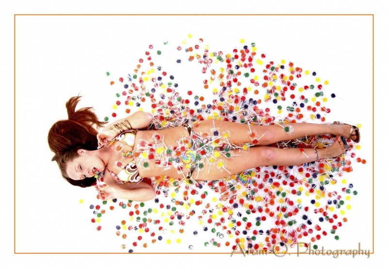 Kenmore Sq. Studio - Boston Ma. May 15, 2008 Aram O. Photography Sweet Dreams (over 1,000 lolipops, what a sweet tooth)