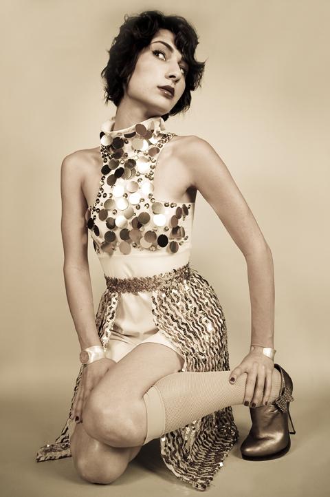 Female model photo shoot of Nathalia Gaviria in hollywood