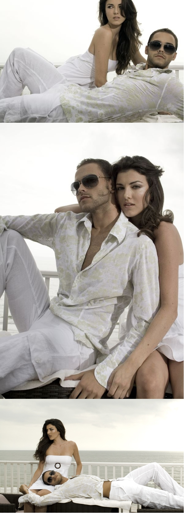 Female and Male model photo shoot of Cat Lemus, Ariana W and P-- in St.Pete beach pent house, makeup by Glamy Makeup