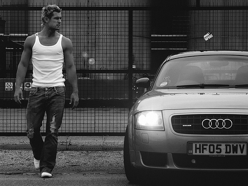 Male model photo shoot of Mark Schofield by Andy Houghton