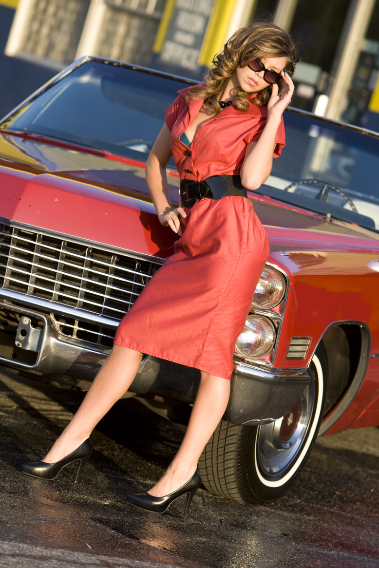 May 20, 2008 Red Vintage Dress Shoot