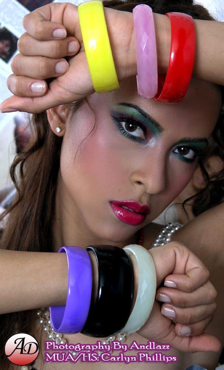 Queens May 20, 2008 ANDLAZZ Elizabeth La Revista (Magazine Shoot)
