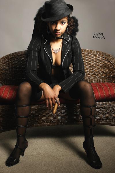 Female model photo shoot of Kiara Jade by Don Jones Photography