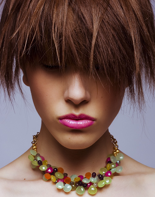 Female model photo shoot of Asia - Fab Studio by Michael Donovan, hair styled by Salty Styles