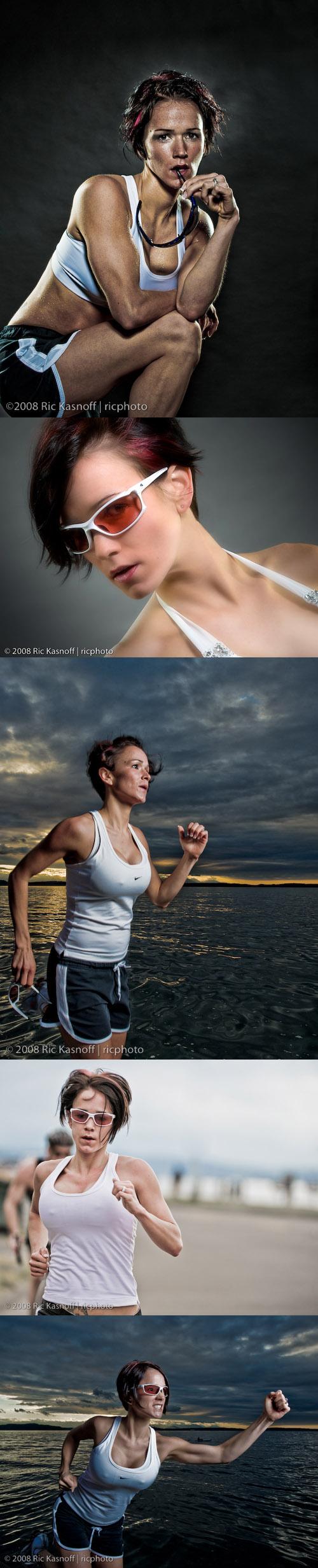 Alki Beach May 24, 2008 Ric Kasnoff Fitness Sunglass ad on Alki