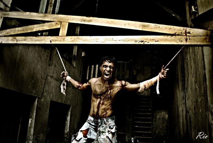 Male model photo shoot of -ARt- in Kota Tua