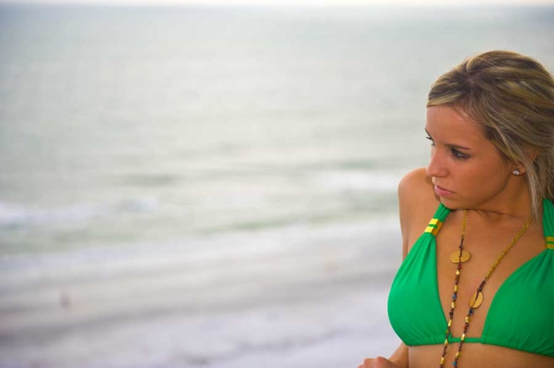 Female model photo shoot of LindsyHall by Carl Roberts in st.pete beach