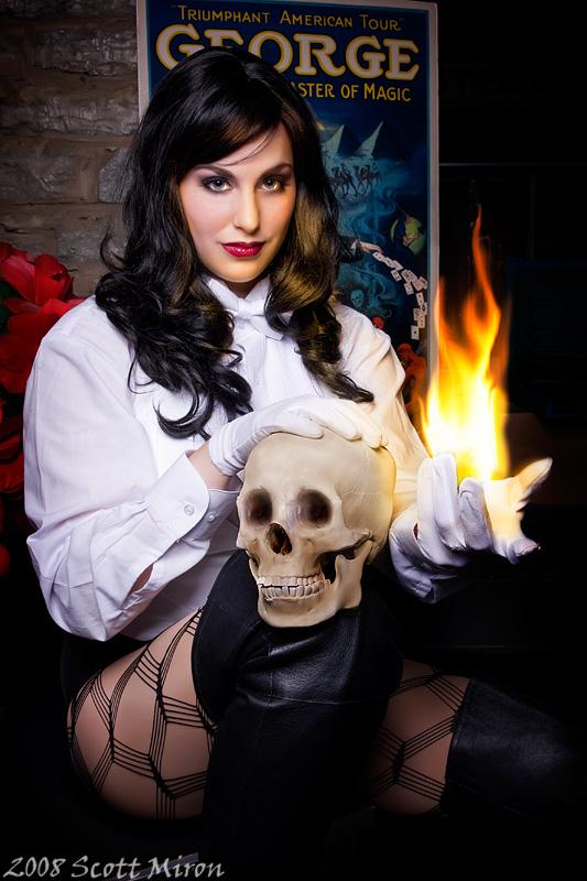 Twin Cities Costume & Magic May 25, 2008 Zatanna Cosplay: Seer of Souls