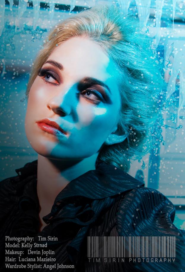Female model photo shoot of Girl on Fire by TSirin, hair styled by Luciana Mazieiro, wardrobe styled by Angel Tailan Johnson, makeup by devin joplin