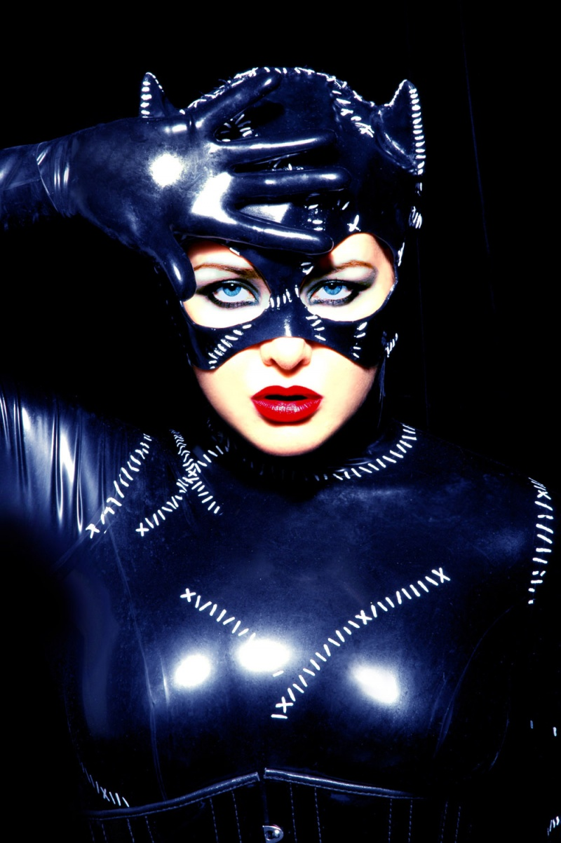 London May 27, 2008 © Miranda Barrie Me as Catwoman! Makeup, styling and image editing by me.