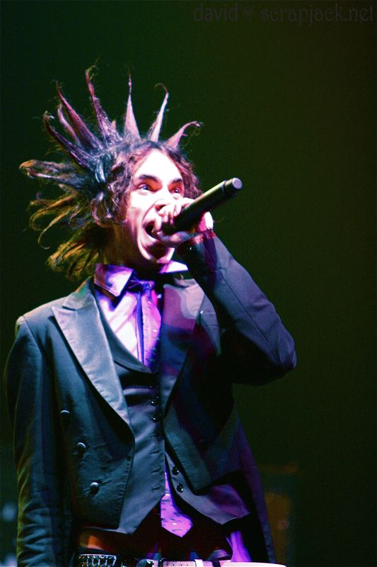 The Wiltern Theater: Los Angeles, CA May 29, 2008 Jimmy Urine of Mindless Self Indulgence