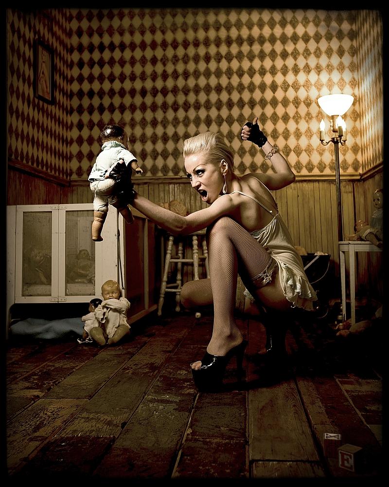 Jun 03, 2008 Precious Little & Gatta Photography Weary of doll caretaking