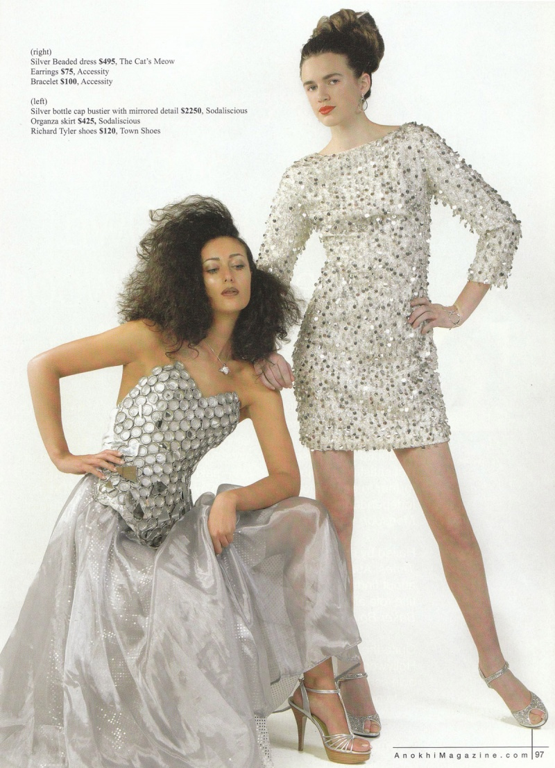 Jun 03, 2008 Anokhi Magazine (outfit on the left only)