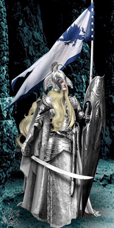 Somewhere in Middle-Earth Jun 04, 2008 Artist: Black Wolf / Model: PrincessButtercup Silver Elf Maiden