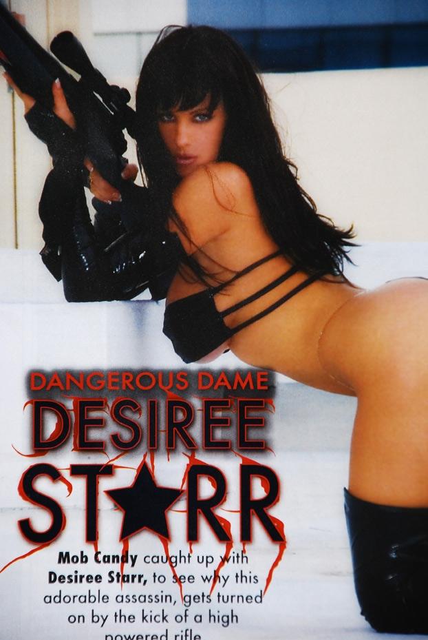 Makeup & Wardrobe - Desiree Starr Jun 06, 2008 Claudio Lovo Mob Candy Magazine - Dangerous Dame - Spring 2008