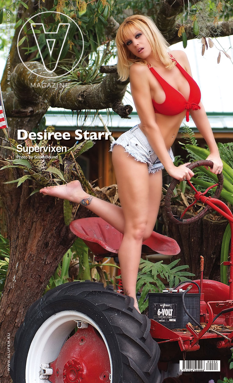 Makeup & Wardrobe - Desiree Starr Jun 06, 2008 Southbound  A Magazine