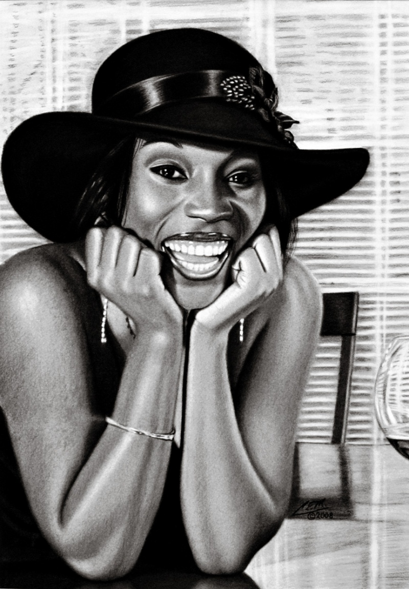 Hand drawn picture of me........ Jun 06, 2008 Happiness