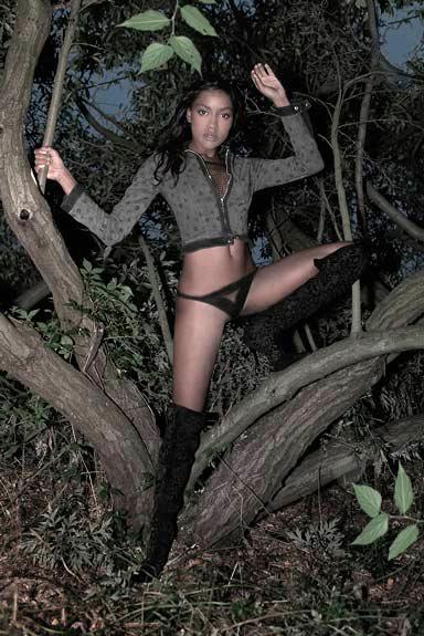 Male and Female model photo shoot of Dimitri Sirenikov and Katrina Reed in New York