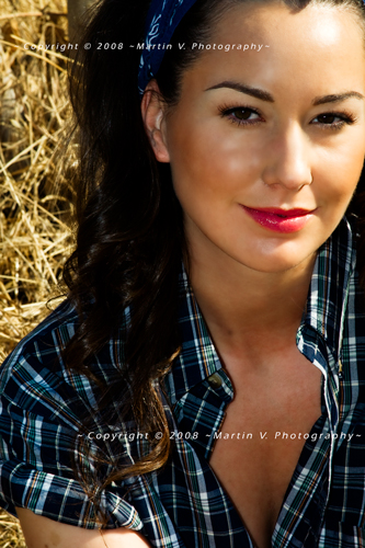 Female model photo shoot of Jessica I by Martin V Photography, makeup by Rosetta Garcia