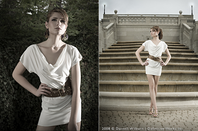 Female model photo shoot of BrittanyJeanE by DarnellWilburn in ault park