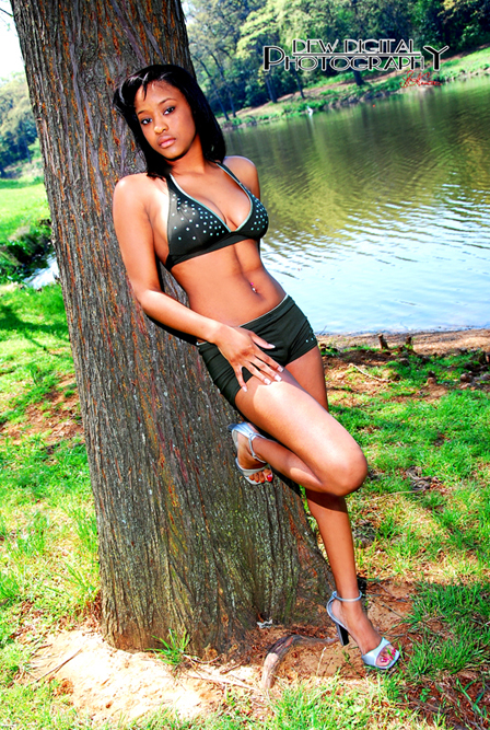 Male and Female model photo shoot of Urban Modelz Inq and MiZz Bee in Randol Mill Park Arlington TX