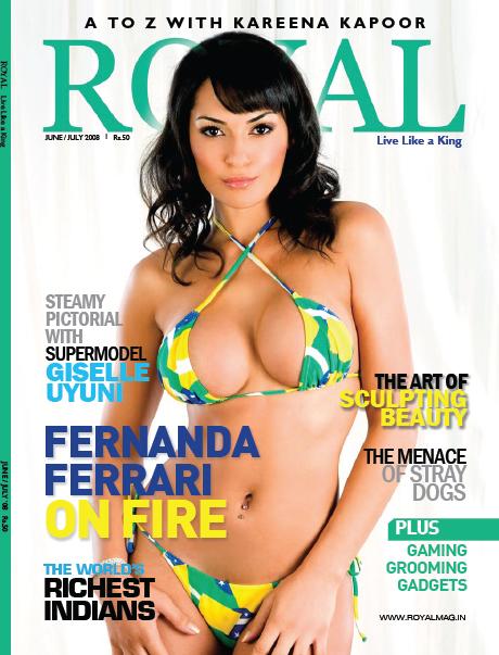 Jun 12, 2008 Fernanda Ferrari