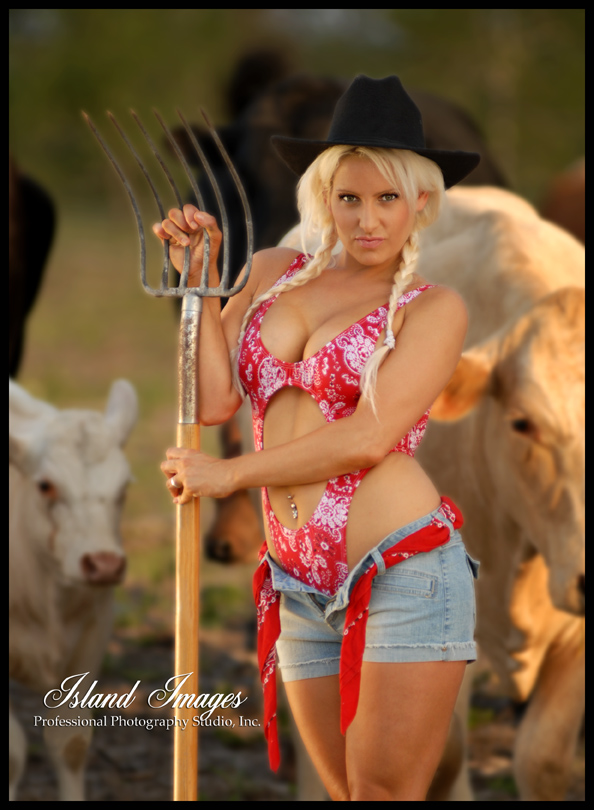 Male and Female model photo shoot of Island Images Pro Photo and Francesca Lee in Home on the Range