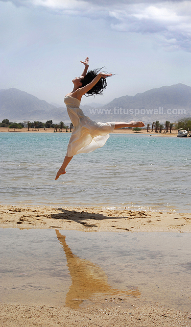 Male and Female model photo shoot of Titus Powell and Lorelei_ in Eilat