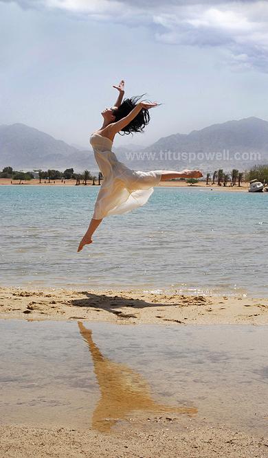 Eilat Jun 13, 2008 Titus Powell The Blue Lagoon