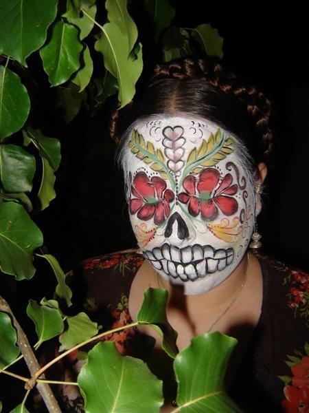 Jun 13, 2008 California Face and Body Art Dia De Los Muertos