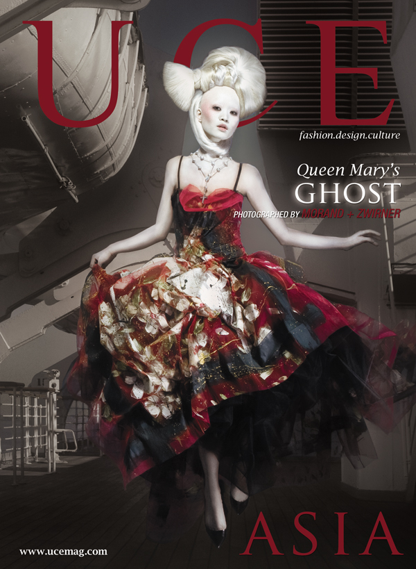 Los Angeles, CA Jun 13, 2008 UCE Magazine Ghost of the Queen Mary -- photographed by Morand + Zwirner