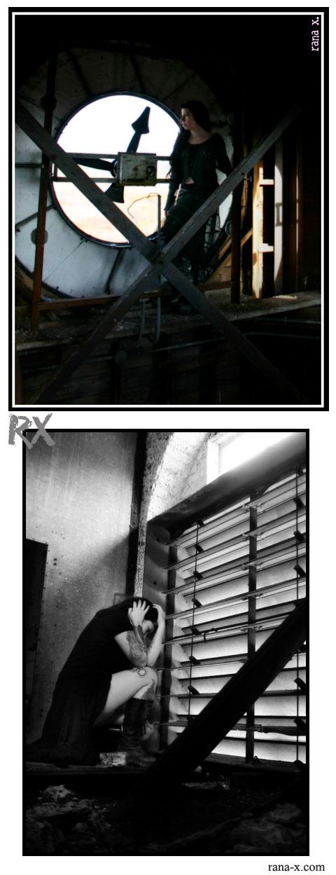 met state hospital clocktower/warehouse Jun 14, 2008 rana x. photography self portraits
