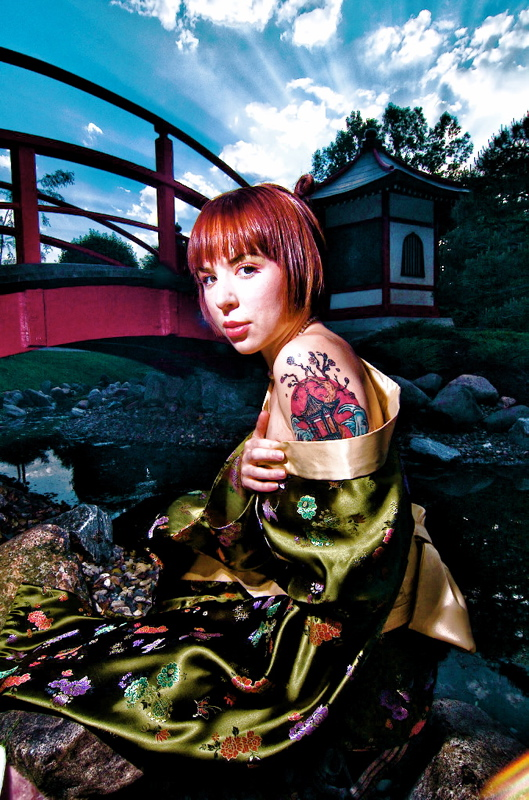 Bloomington, MN Jun 14, 2008 Michael David Novak Anime Garden Concept